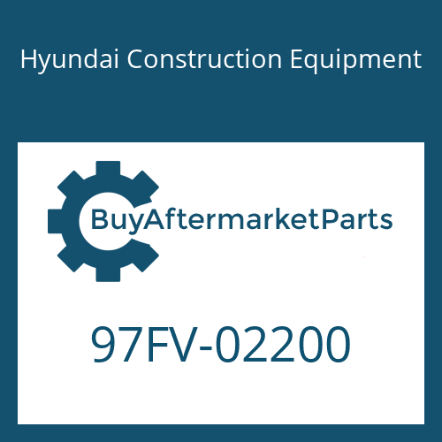 Hyundai Construction Equipment 97FV-02200 - DECAL-MODEL NAME