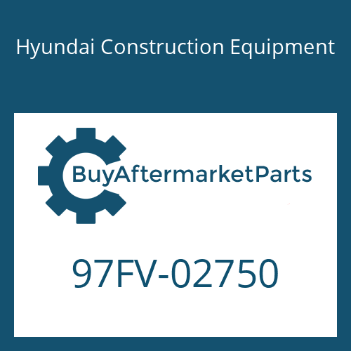 Hyundai Construction Equipment 97FV-02750 - DECAL-MODEL NAME