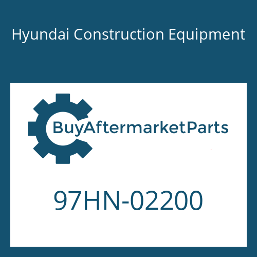 Hyundai Construction Equipment 97HN-02200 - DECAL-MODEL NAME