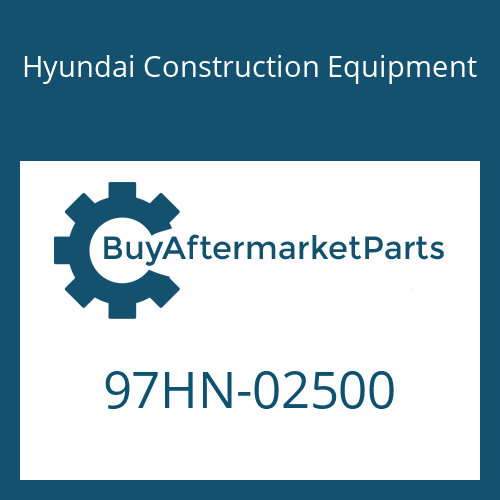 Hyundai Construction Equipment 97HN-02500 - DECAL-MODEL NAME