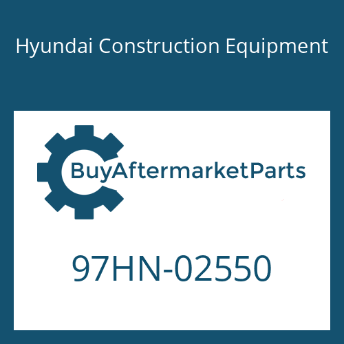 Hyundai Construction Equipment 97HN-02550 - DECAL-MODEL NAME