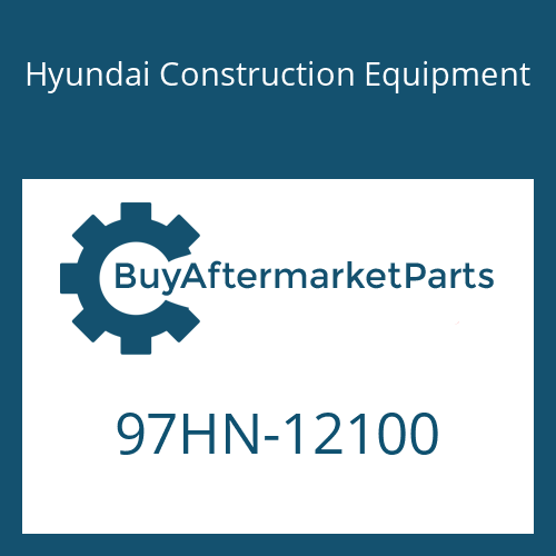 Hyundai Construction Equipment 97HN-12100 - DECAL-MODEL NAME