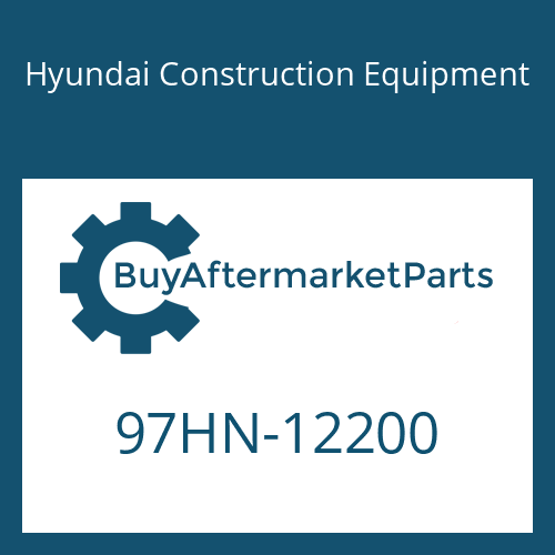 Hyundai Construction Equipment 97HN-12200 - DECAL-MODEL NAME