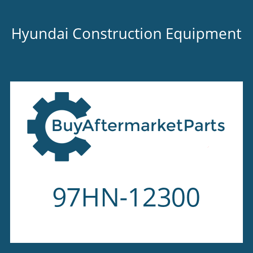 Hyundai Construction Equipment 97HN-12300 - DECAL-MODEL NAME