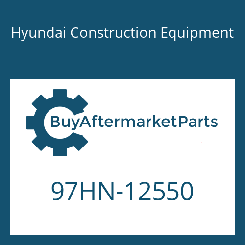 Hyundai Construction Equipment 97HN-12550 - DECAL-MODEL NAME