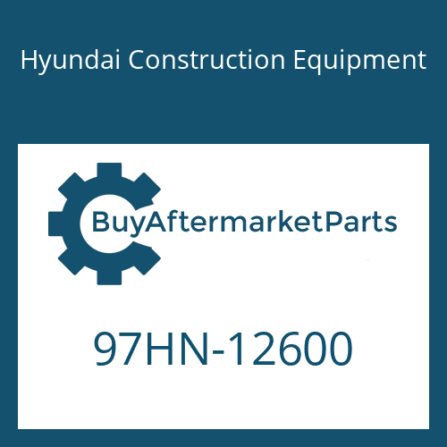 Hyundai Construction Equipment 97HN-12600 - DECAL-MODEL NAME