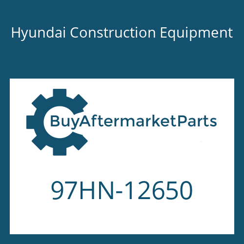 Hyundai Construction Equipment 97HN-12650 - DECAL-MODEL NAME