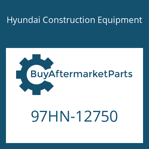 Hyundai Construction Equipment 97HN-12750 - DECAL-MODEL NAME