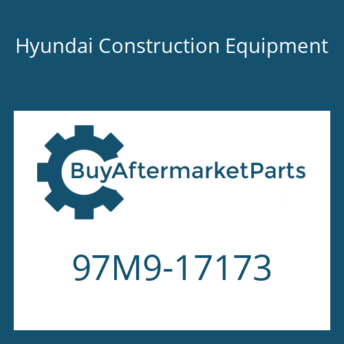 Hyundai Construction Equipment 97M9-17173 - DECAL-SERVICE INSTRUCTION