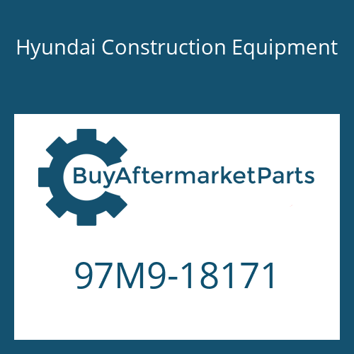Hyundai Construction Equipment 97M9-18171 - DECAL-SERVICE INSTRUCTION