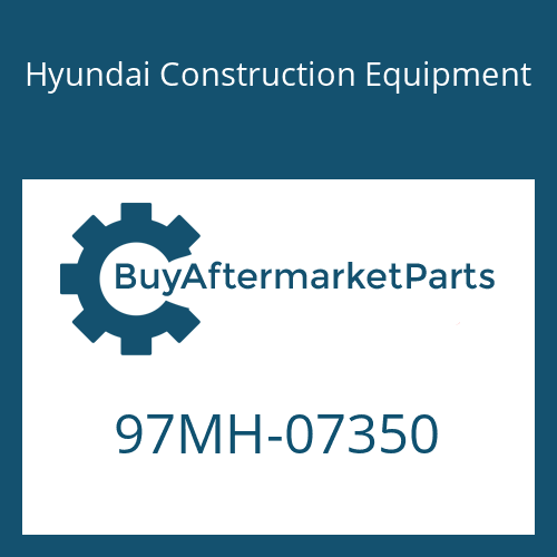 Hyundai Construction Equipment 97MH-07350 - DECAL-SAFETY