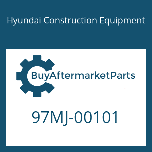Hyundai Construction Equipment 97MJ-00101 - DECAL KIT-A
