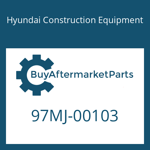 Hyundai Construction Equipment 97MJ-00103 - DECAL KIT-A