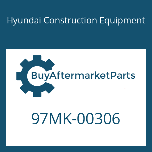 Hyundai Construction Equipment 97MK-00306 - DECAL KIT-A