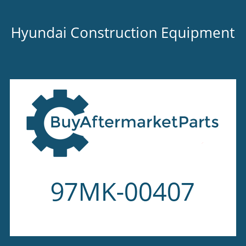 Hyundai Construction Equipment 97MK-00407 - DECAL KIT-A