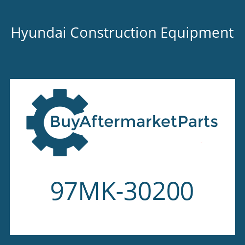 Hyundai Construction Equipment 97MK-30200 - DECAL KIT-B