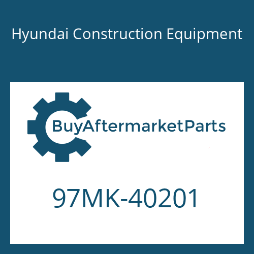 Hyundai Construction Equipment 97MK-40201 - DECAL KIT-B