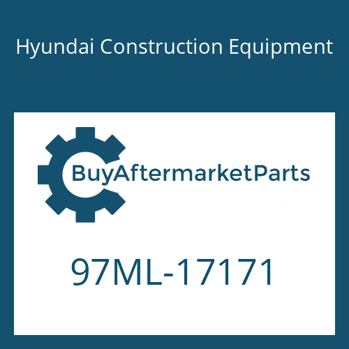 Hyundai Construction Equipment 97ML-17171 - DECAL-SERVICE INSTRUCTION