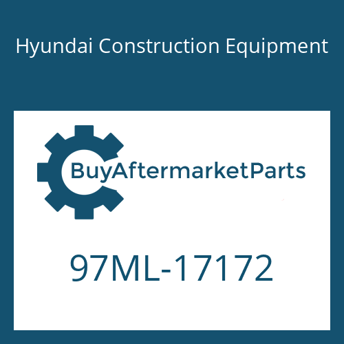 Hyundai Construction Equipment 97ML-17172 - DECAL-SERVICE INSTRUCTION