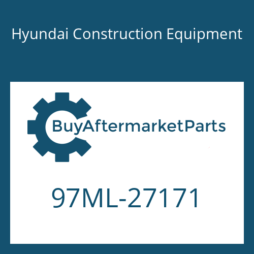 Hyundai Construction Equipment 97ML-27171 - DECAL-SERVICE INSTRUCTION