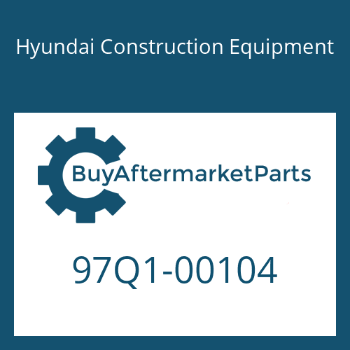 Hyundai Construction Equipment 97Q1-00104 - DECAL KIT-A