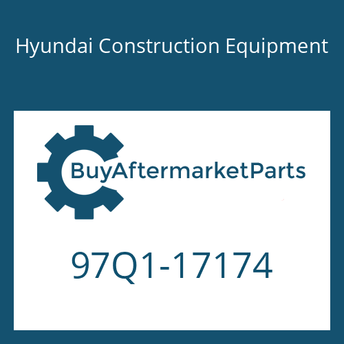 Hyundai Construction Equipment 97Q1-17174 - DECAL-SERVICE INSTRUCTION