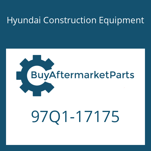 Hyundai Construction Equipment 97Q1-17175 - DECAL-SERVICE INSTRUCTION