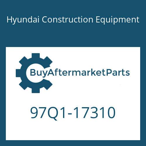 Hyundai Construction Equipment 97Q1-17310 - DECAL-CONTROL SWIVEL