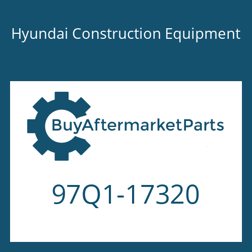 Hyundai Construction Equipment 97Q1-17320 - DECAL-CONTROL SWIVEL