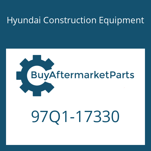 Hyundai Construction Equipment 97Q1-17330 - DECAL-CONTROL SWIVEL