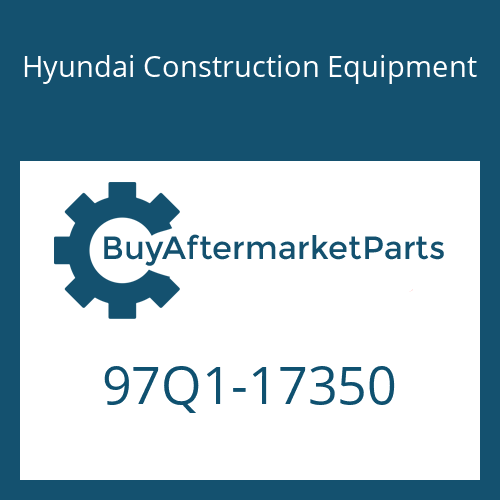 Hyundai Construction Equipment 97Q1-17350 - DECAL-CONTROL SWIVEL