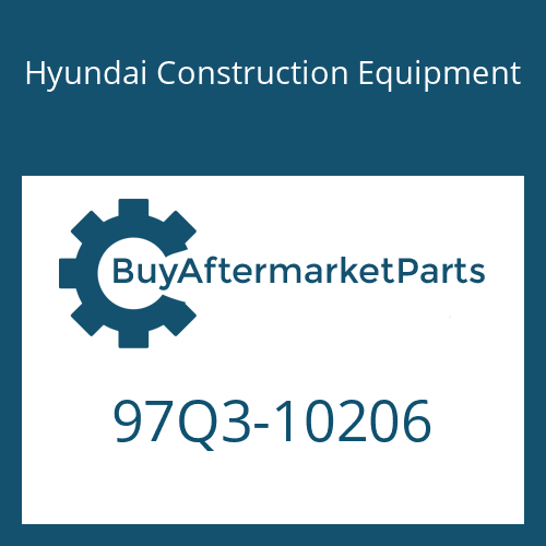 Hyundai Construction Equipment 97Q3-10206 - DECAL KIT-B