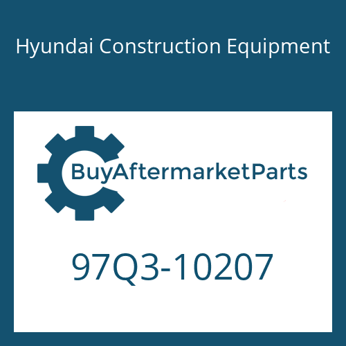 Hyundai Construction Equipment 97Q3-10207 - DECAL KIT-B