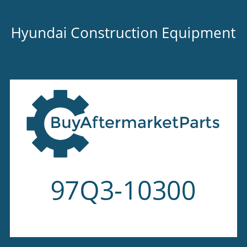 Hyundai Construction Equipment 97Q3-10300 - DECAL KIT-B