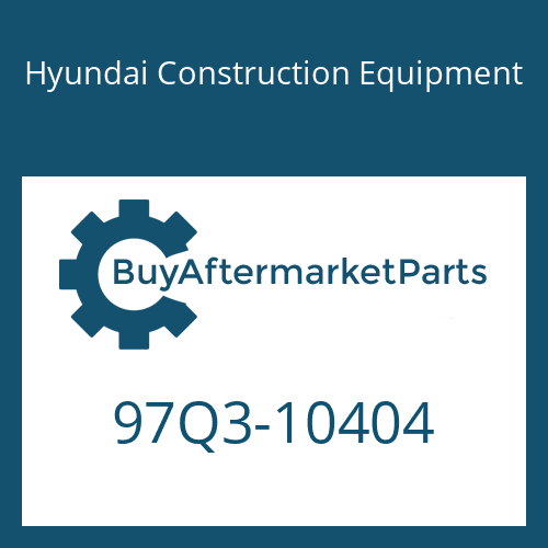 Hyundai Construction Equipment 97Q3-10404 - DECAL KIT-B