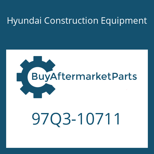 Hyundai Construction Equipment 97Q3-10711 - DECAL-SERVICE INSTRUCTION