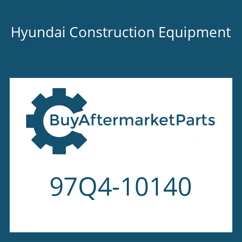 Hyundai Construction Equipment 97Q4-10140 - DECAL-MODEL NAME LH