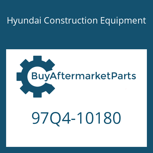 Hyundai Construction Equipment 97Q4-10180 - DECAL-MODEL NAME