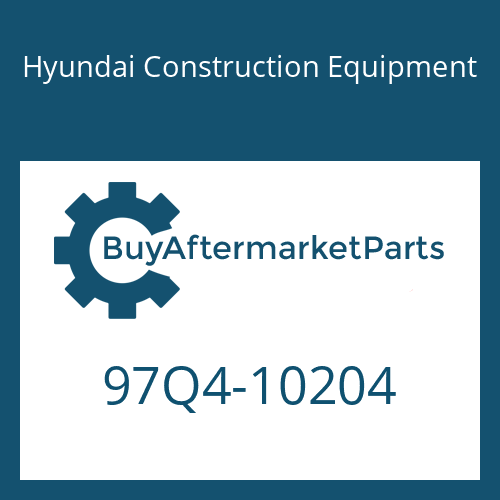 Hyundai Construction Equipment 97Q4-10204 - DECAL KIT-B