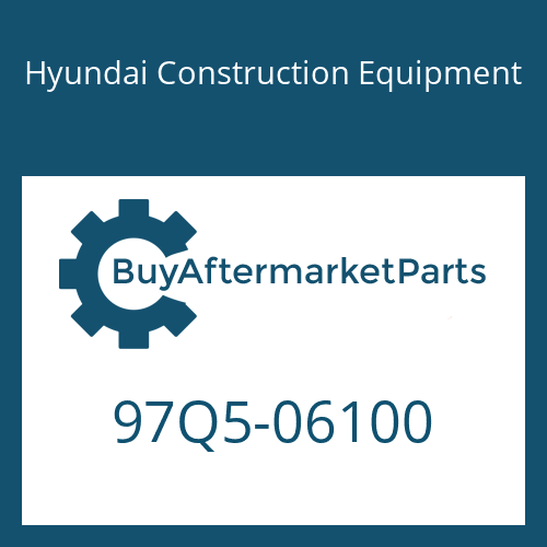 Hyundai Construction Equipment 97Q5-06100 - DECAL KIT-LIFT CHART