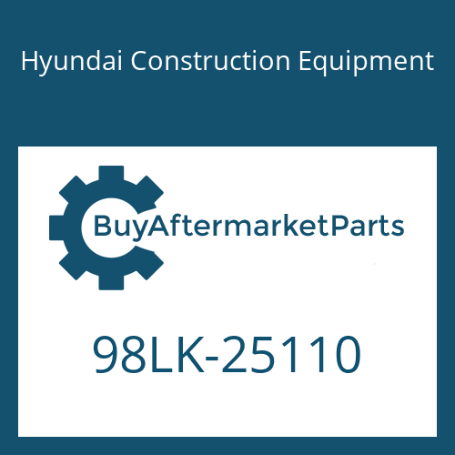 Hyundai Construction Equipment 98LK-25110 - DECAL-MODEL NAME LH