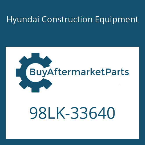 Hyundai Construction Equipment 98LK-33640 - MANUAL-OPERATORS