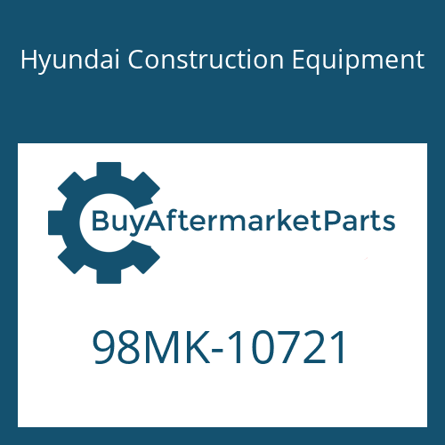 Hyundai Construction Equipment 98MK-10721 - DECAL-SERVICE INSTRUCTION