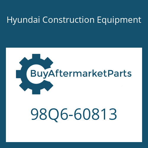 Hyundai Construction Equipment 98Q6-60813 - DECAL-SERVICE INSTRUCTION