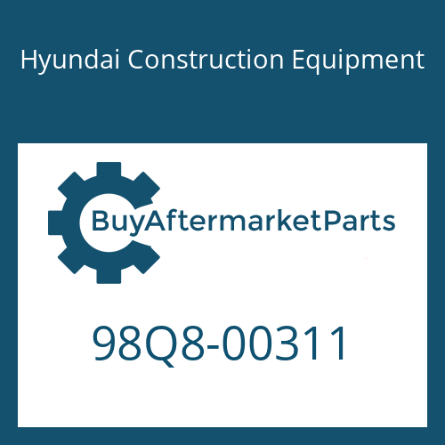 Hyundai Construction Equipment 98Q8-00311 - DECAL KIT-B