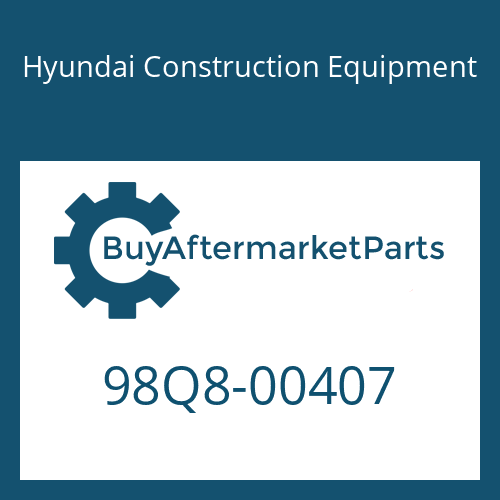 Hyundai Construction Equipment 98Q8-00407 - DECAL KIT-B