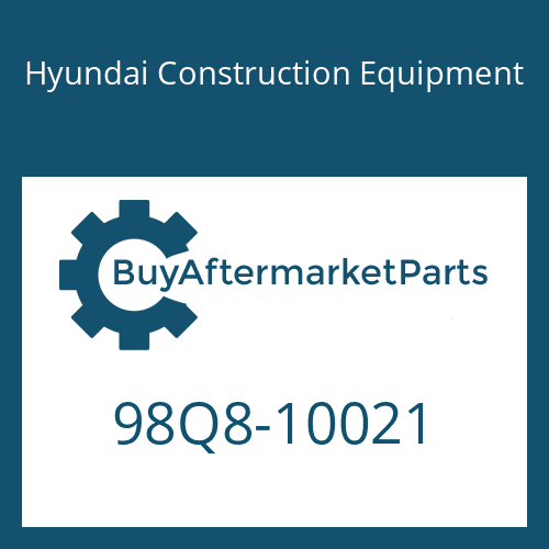 Hyundai Construction Equipment 98Q8-10021 - DECAL-MODEL NAME