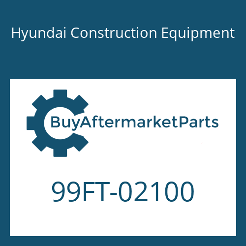 Hyundai Construction Equipment 99FT-02100 - DECAL-MODEL NAME
