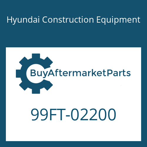 Hyundai Construction Equipment 99FT-02200 - DECAL-MODEL NAME