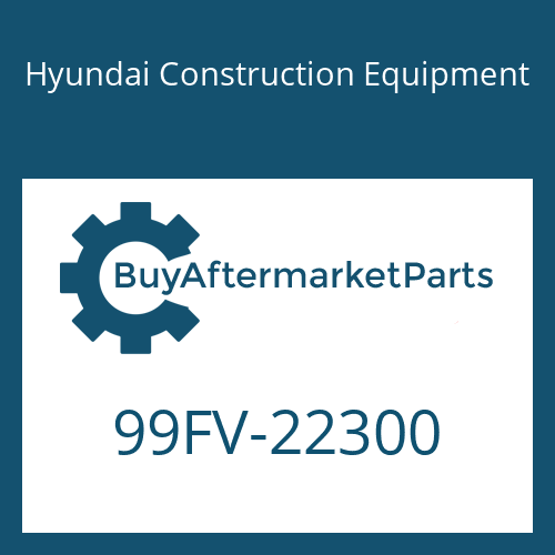 Hyundai Construction Equipment 99FV-22300 - DECAL-MODEL NAME